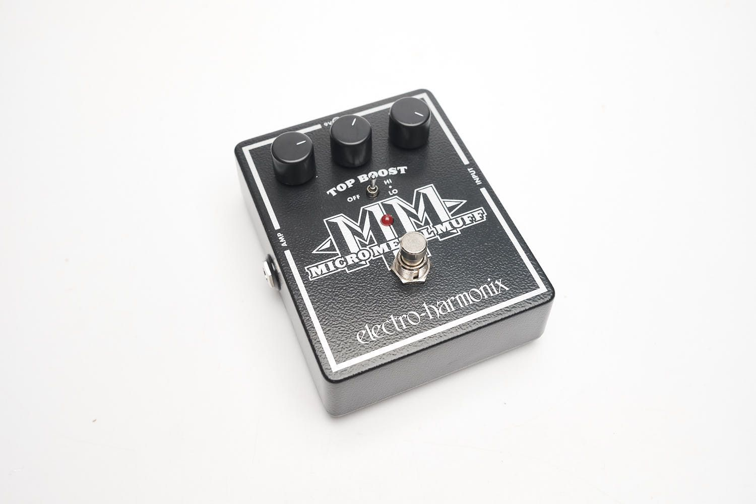 Pedal Electro-harmonix Micro Metal Muff Distortion With Top Boost