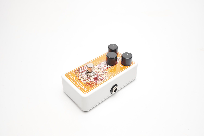Pedal Electro-harmonix Para Guitarra Flatiron Fuzz Overdrive