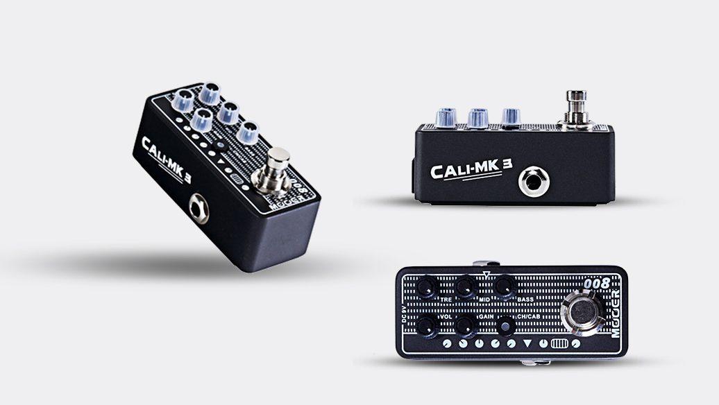 Pedal Mooer Cali Mk3 M008 | Pré Amp | Para Guitarra