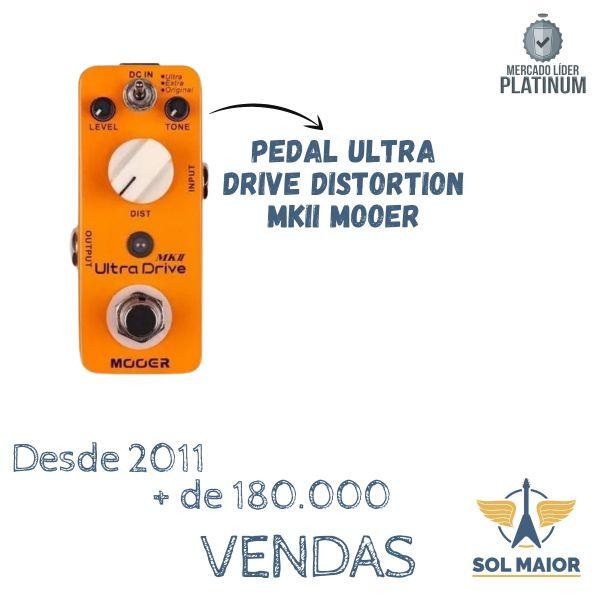 Pedal Mooer Ultra Drive Mk2 Distortion - Mds4 Boss Ds1