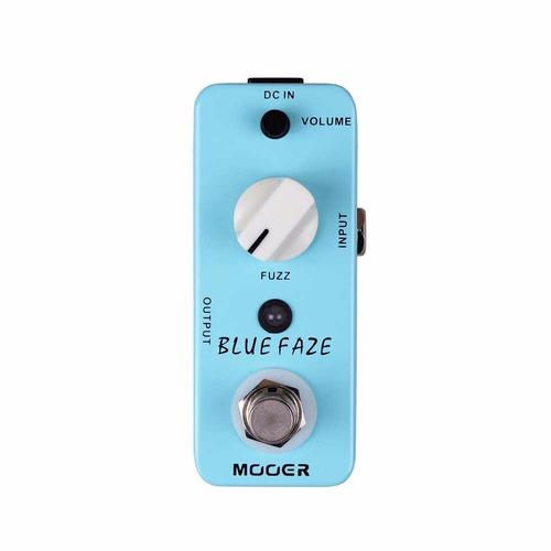 Pedal Para Guitarra Blue Faze Fuzz Mbfaze - Mooer
