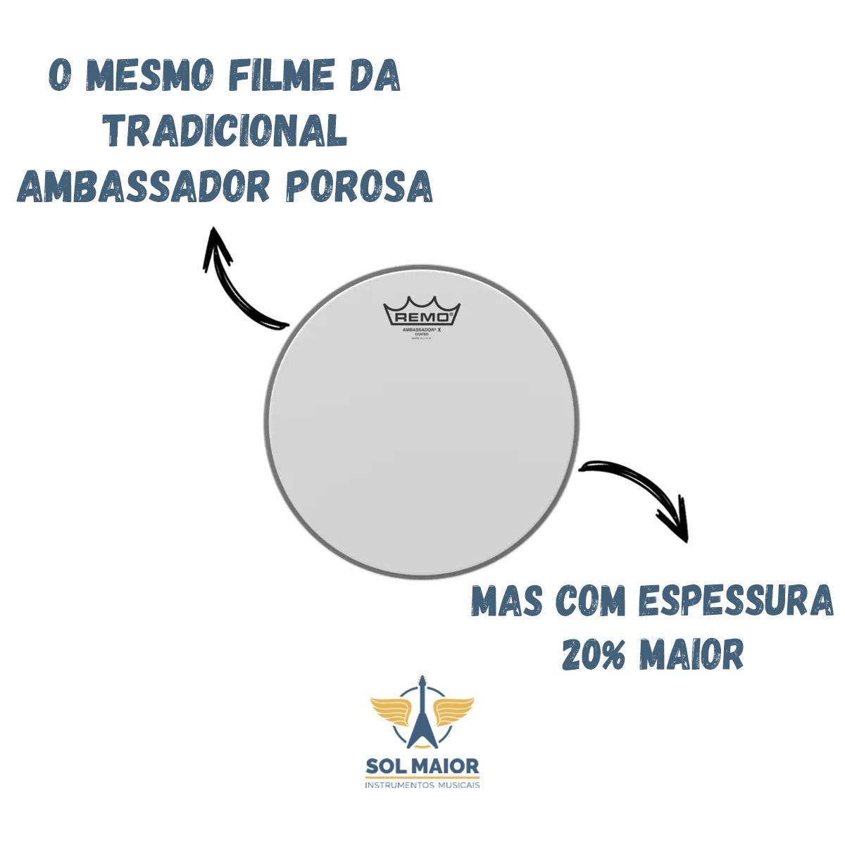 Pele 14 Pol Ambassador Remo Ax-0114-00 X Porosa