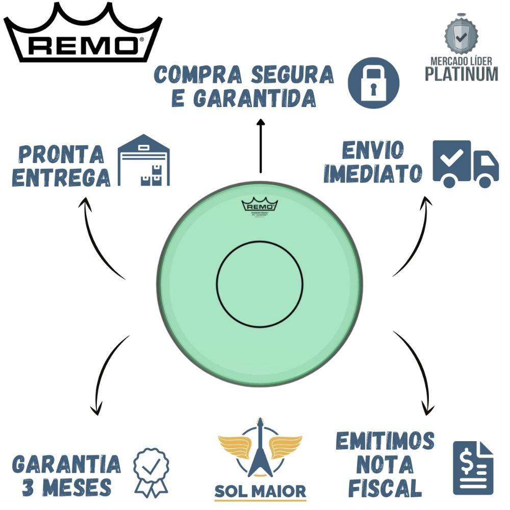 """Pele Remo 13"""" Powerstroke 77 Colortone Verde P7-0313-CT-GN"""