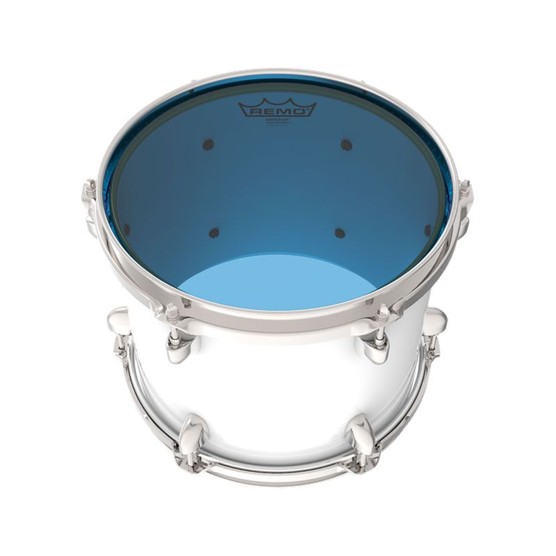 "Pele Remo 8"" Emperor Colortone Transparente Azul BE-0308-CT"