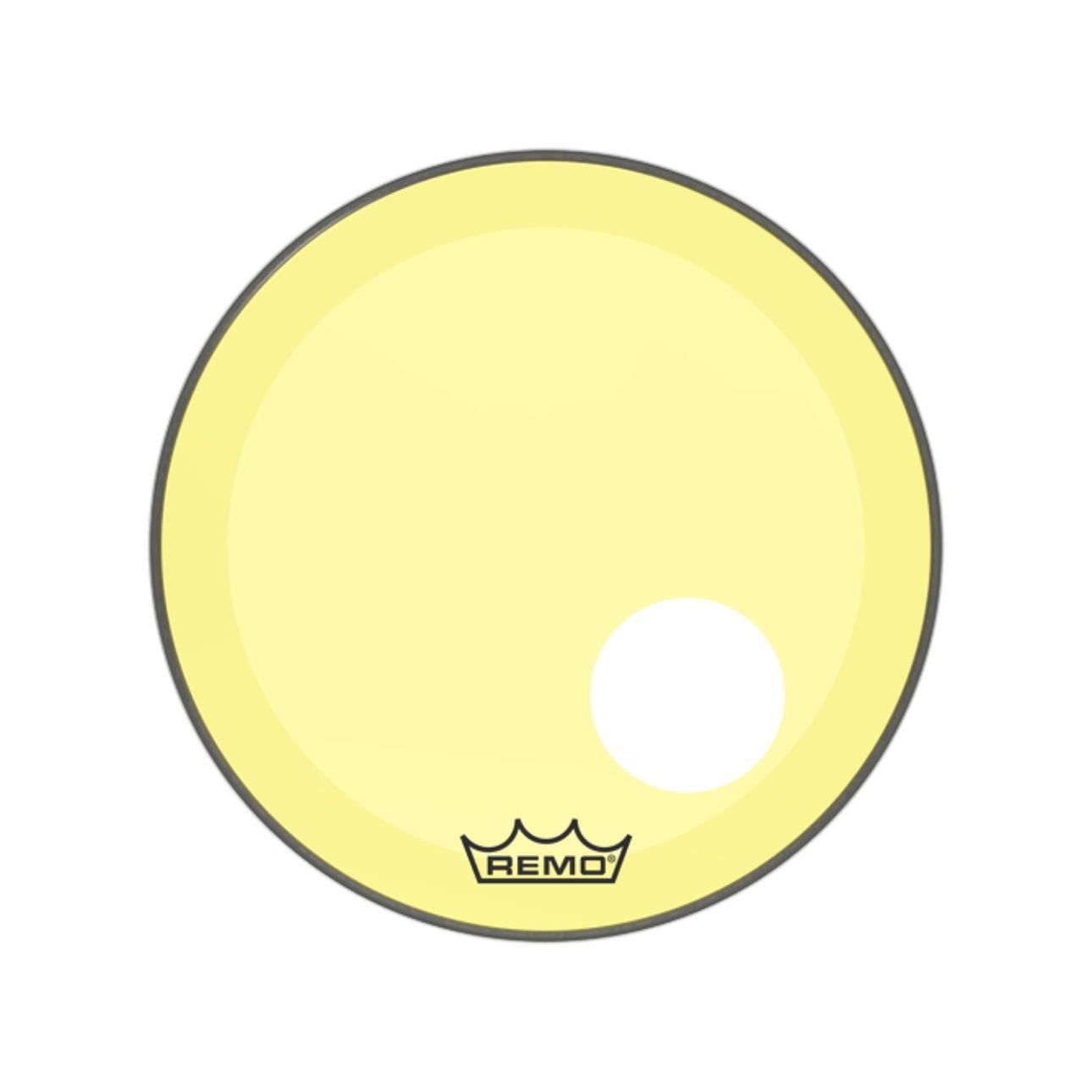 "Pele Remo 22"" Powerstroke 3 Colortone Amarela P3-1322-CT-YE"