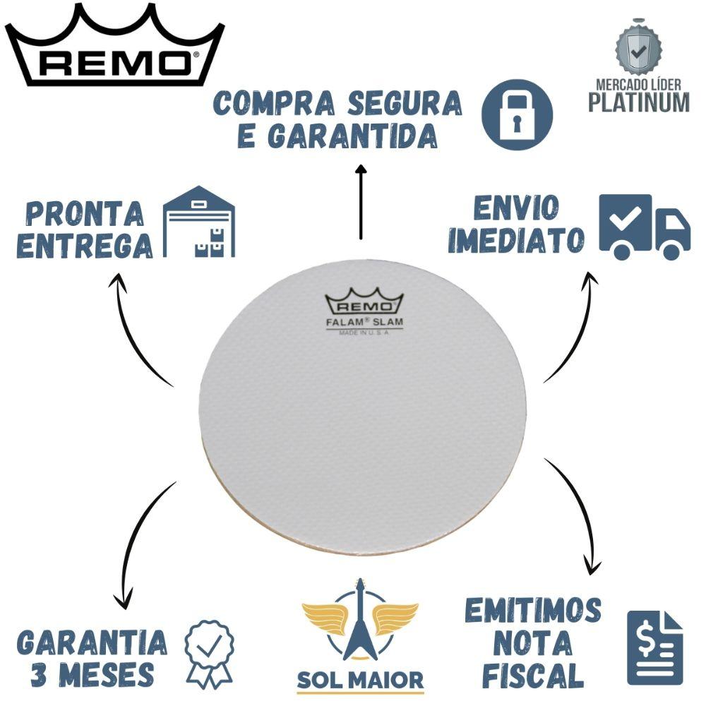 "Pele Remo Caixa Marcial 14"" Falams II Porosa – KS-0114-00"