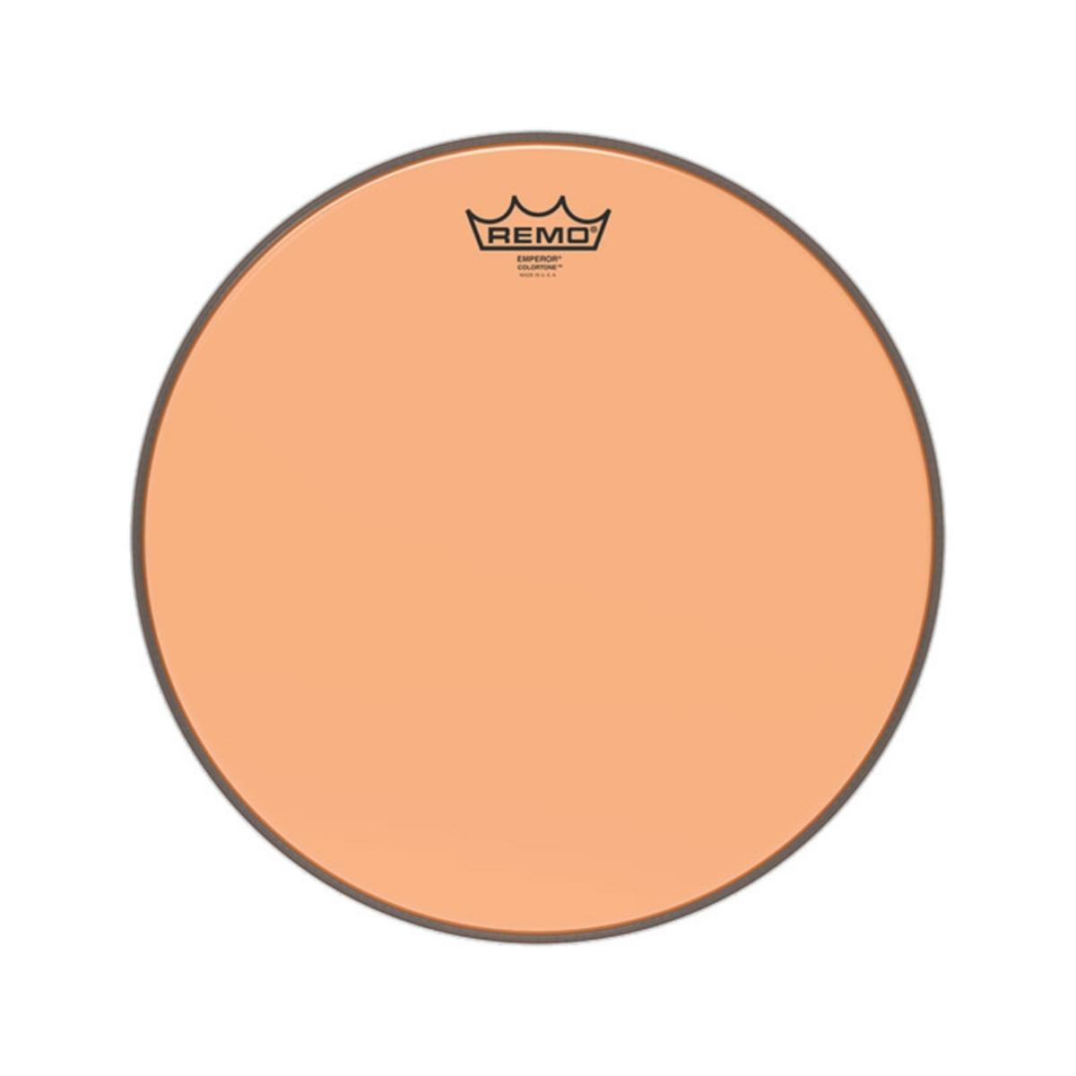 """Pele Remo de 10"""" Emperor Colortone Laranja BE-0310-CT-OG"""