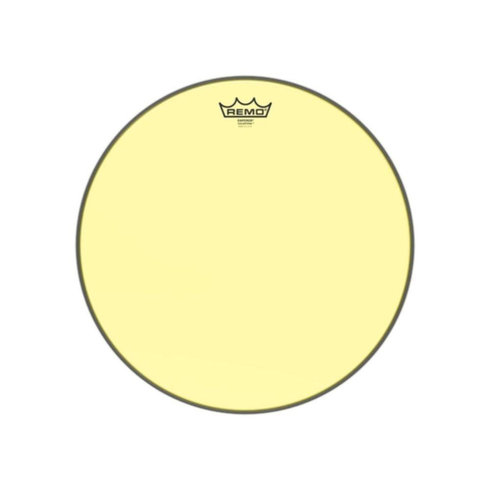 """Pele Remo de 16"""" Emperor Colortone Amarela BE-0316-CT-YE"""