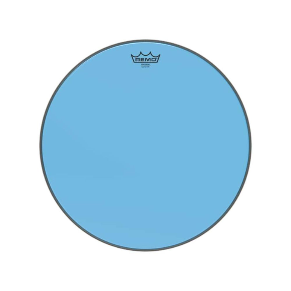 """Pele Remo de 18"""" Emperor Colortone Azul BE-0318-CT-BU"""