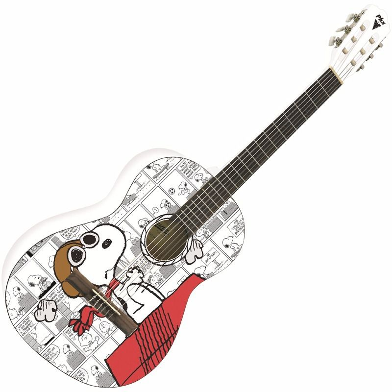 Phx Violão Clássico Snoopy Aviador Vsa1