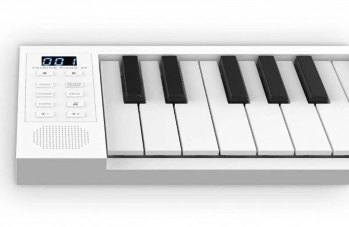 Piano Digital Carry On 49 Dobrável Portatil De 49 Teclas C/nfe
