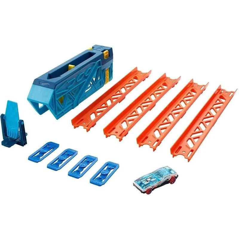 Pista de Impulso Hot Wheels Track Builder Unlimited - Mattel