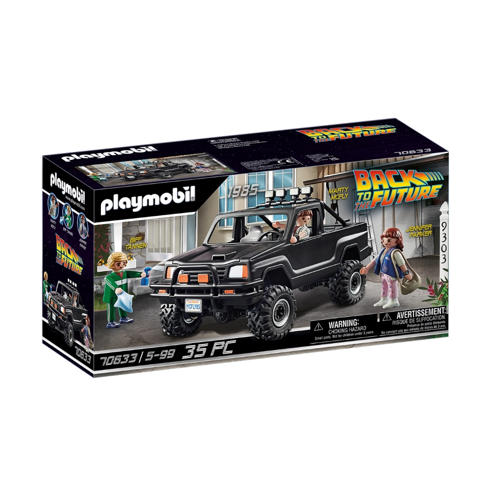 Playmobil De Volta Para O Futuro A Pick-up Marty Sunny 2558