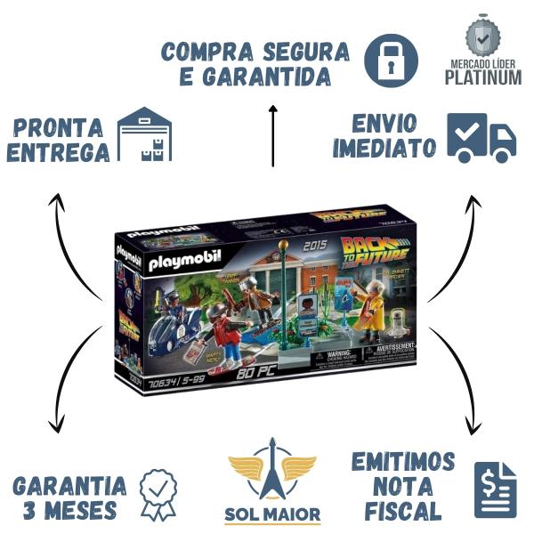 Playmobil - De Volta Pro Futuro - Fuga De Skate 2559