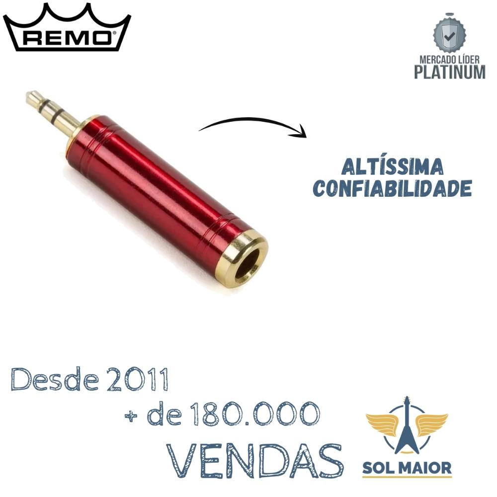 Plug adaptador P2/P10 Estéreo Santo Angelo P2/P10ST-VM