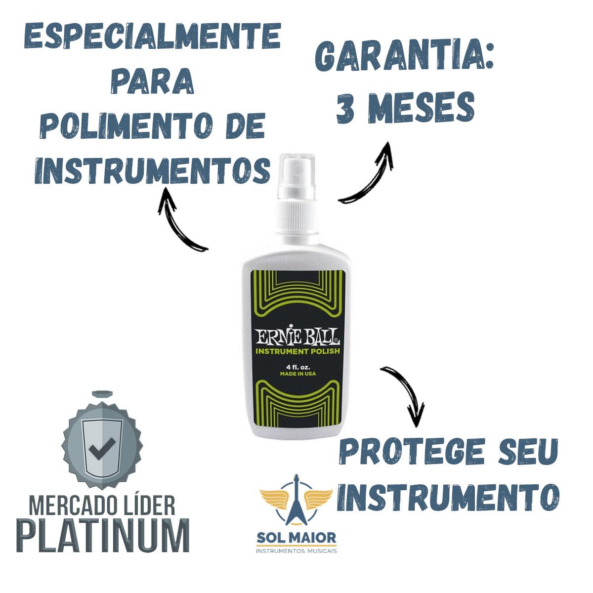 Polidor Ernie Ball Instrumentos Guitar Polish P04223 - 12914