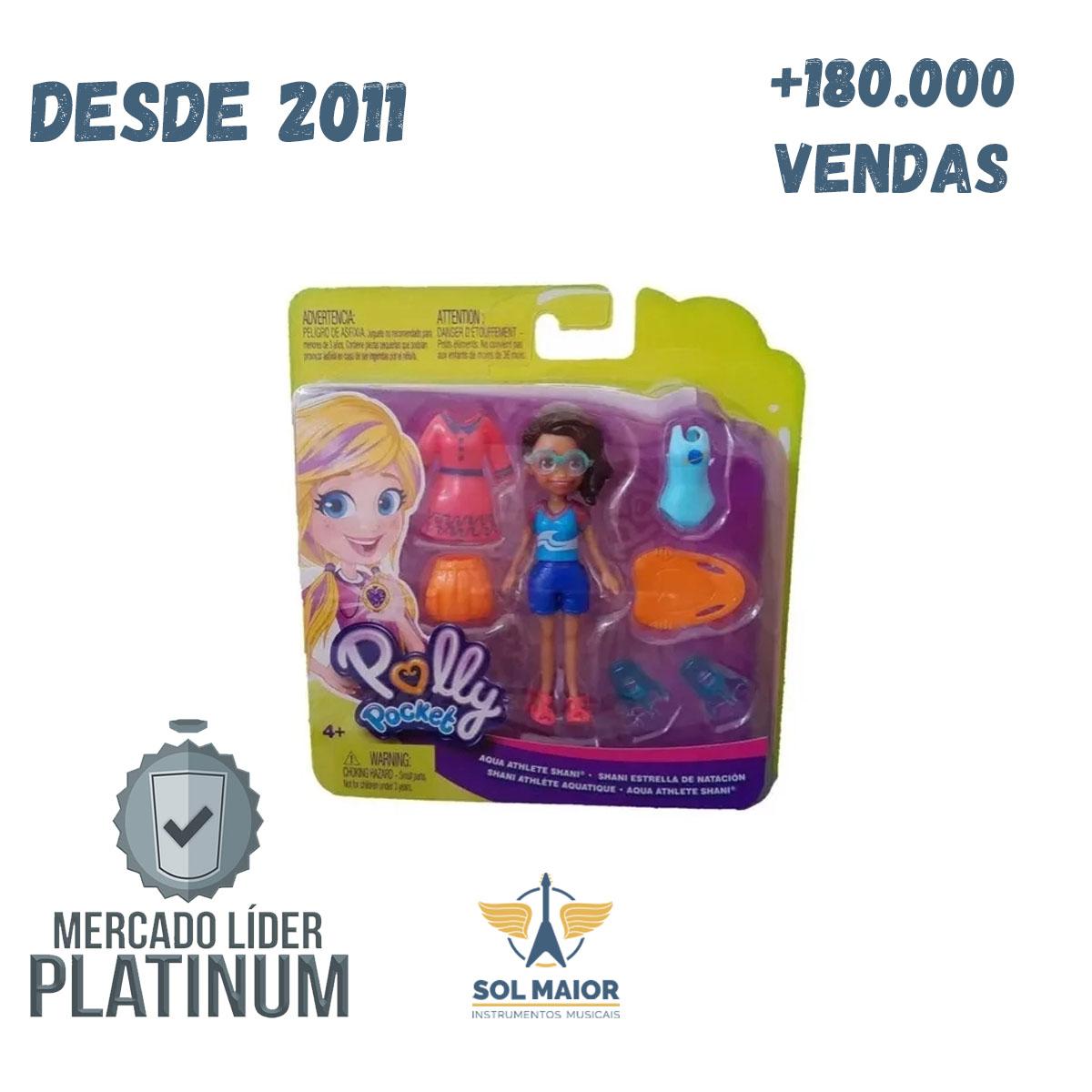 Polly Pocket Boneca Atleta Aquática - GDL97 Mattel