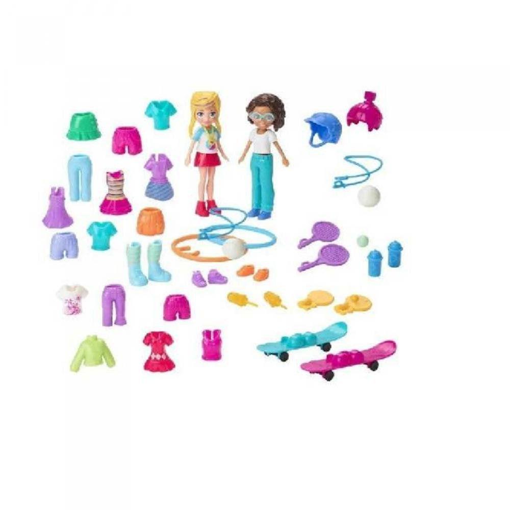 Polly pocket kit moda esportiva GGJ48 - Mattel