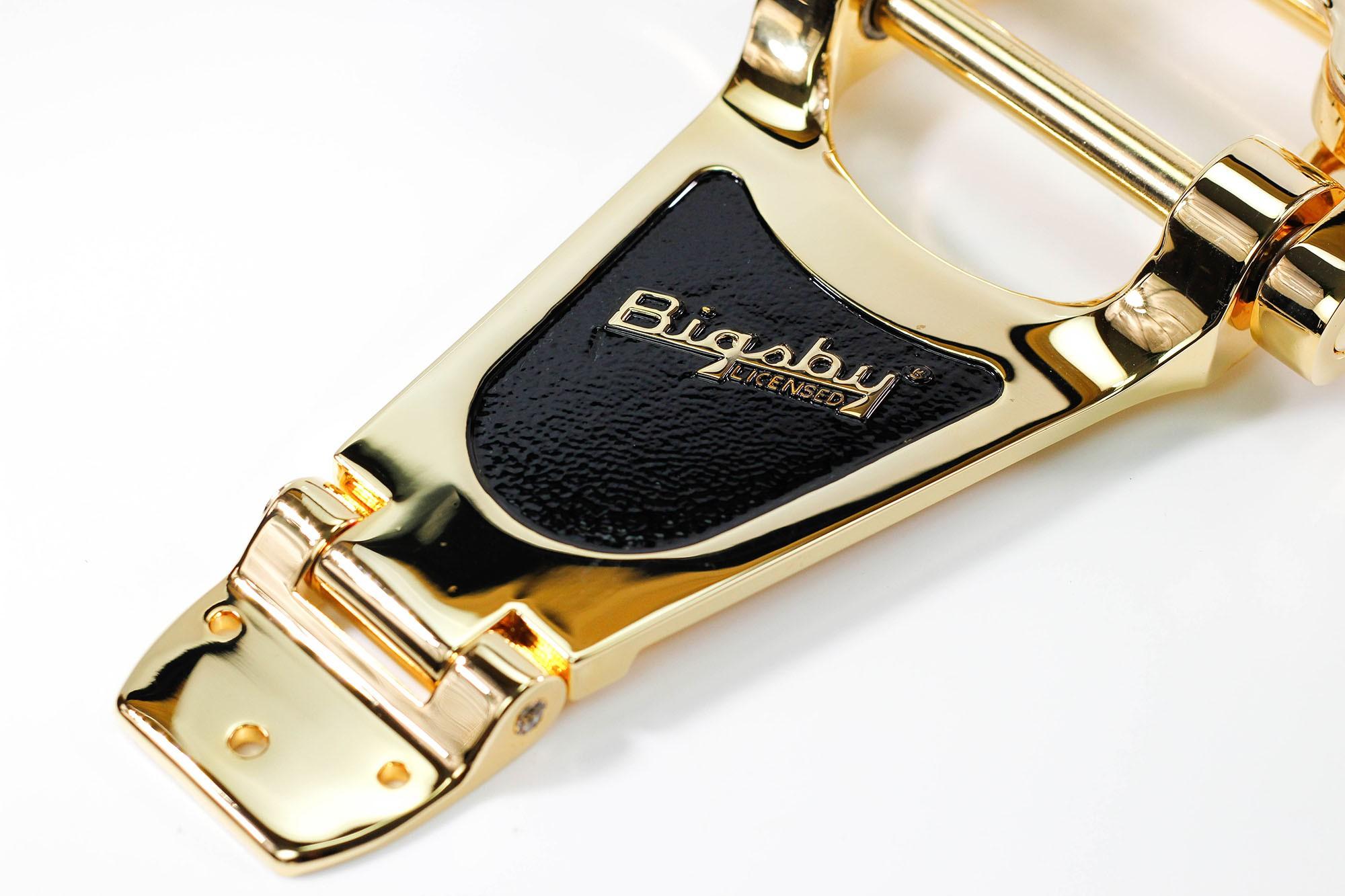Ponte Guitarra Tremolo Bigsby B70 Dourada Original