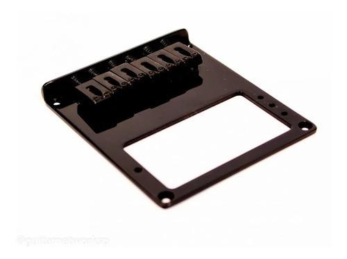 Ponte Para Guitarra Estilo Telecaster Preto Eg16-bk - Spirit