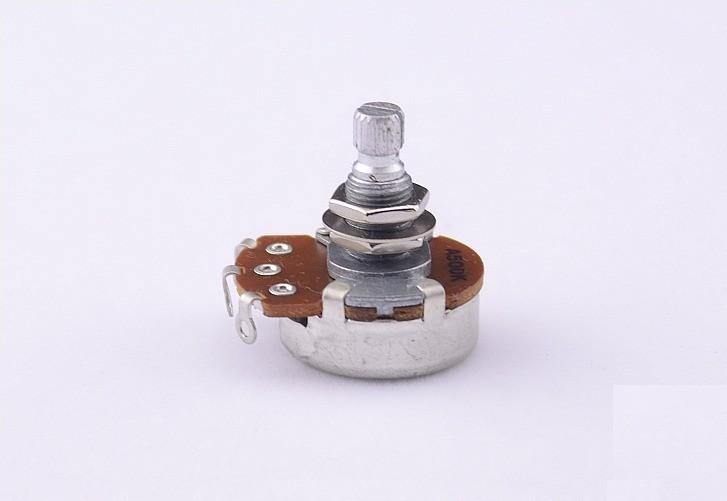 Potenciômetro Custom Sound A500K Logarítmico 24mm Diâmetro