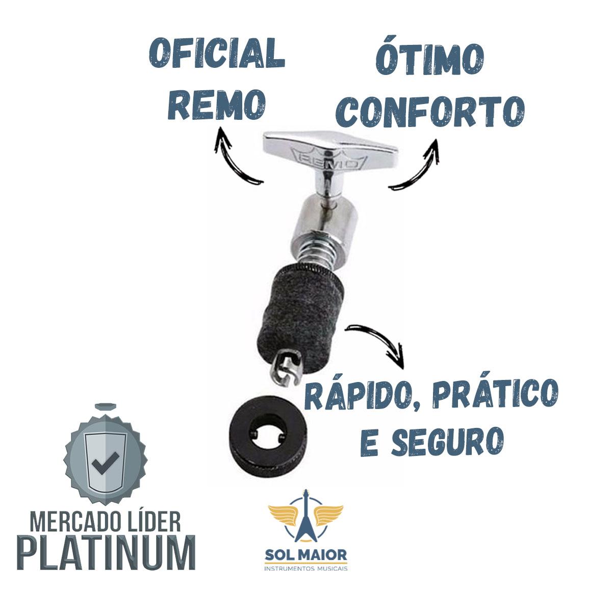 Presilha De Chimbal Remo Quicklock Hk-9045