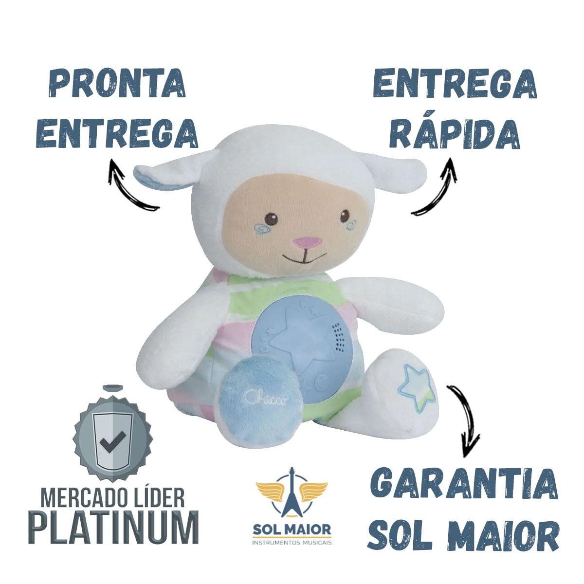 Primeiro Brinquedo Ovelha Doce Soninho Azul Chicco 090902