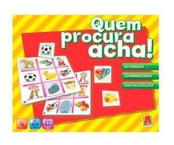 Quem Procura Acha - Algazarra Brinquedos