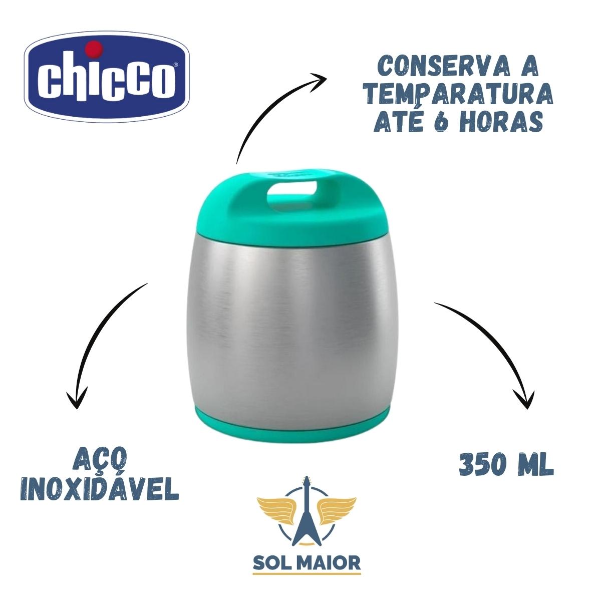 Recipiente Termico Para Alimentos Inox Azul - Chicco