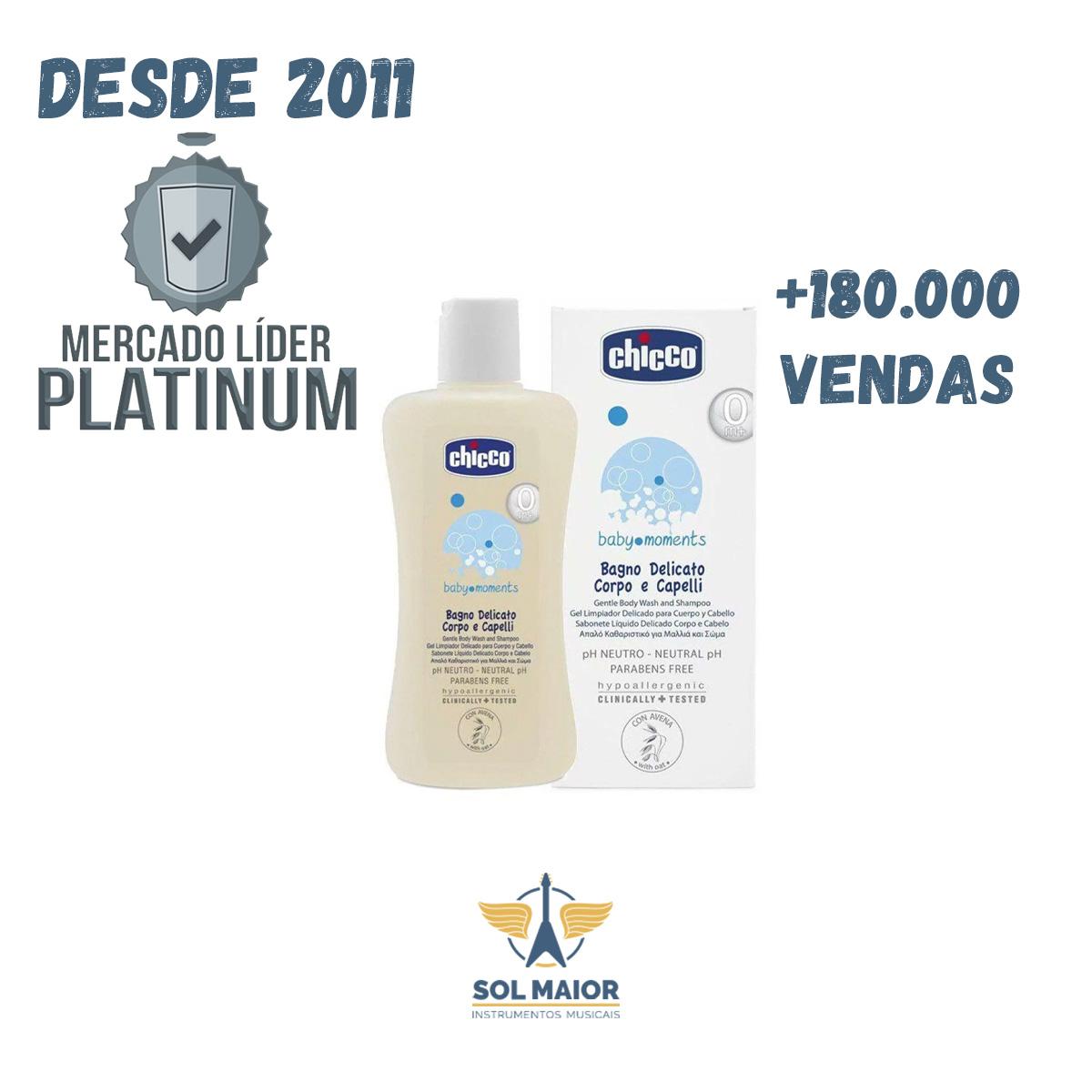 Sabonete Liquido Delicado Corpo E Cabelo +0m 200ml Chicco