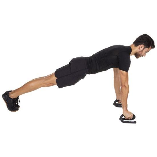 Suporte para Flexão de Braço e Exercícios - Vollo Vp1069