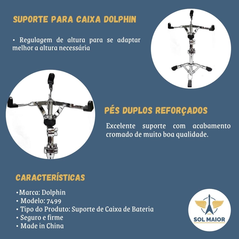Suporte Dolphin Estante Professional Para Caixa Dolphin 7499