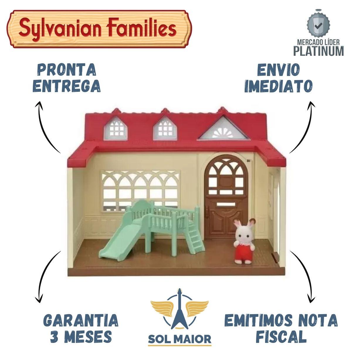 Sylvanian Families Casa Doce Framboesa Original Epoch 5393
