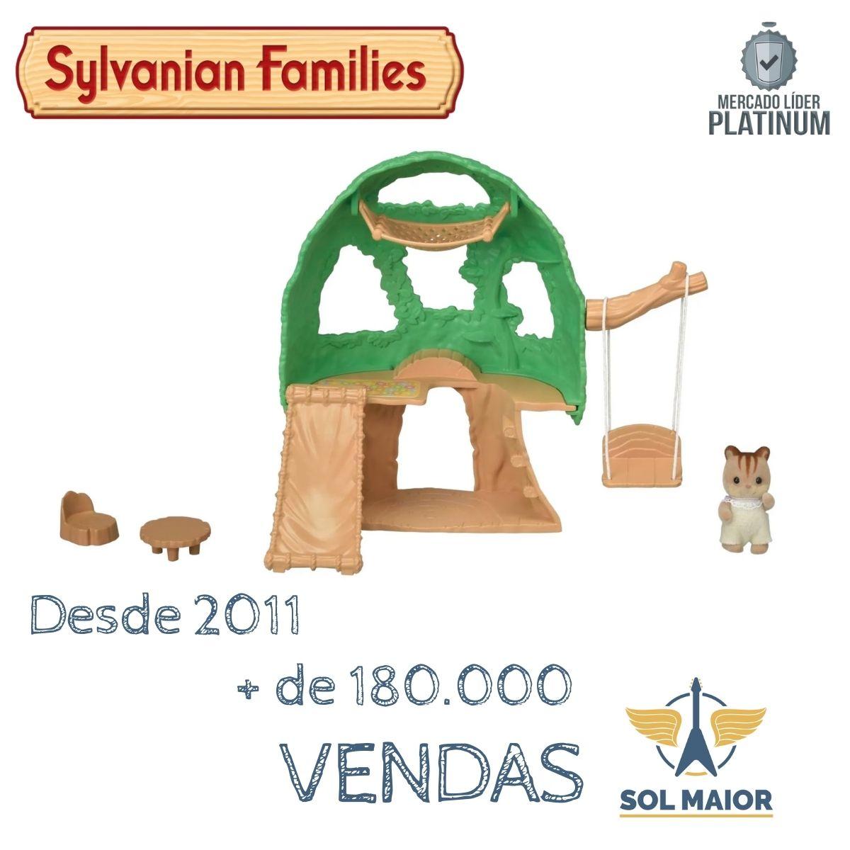 Sylvanian Families Casa Na Árvore Do Bebê Epoch 5318