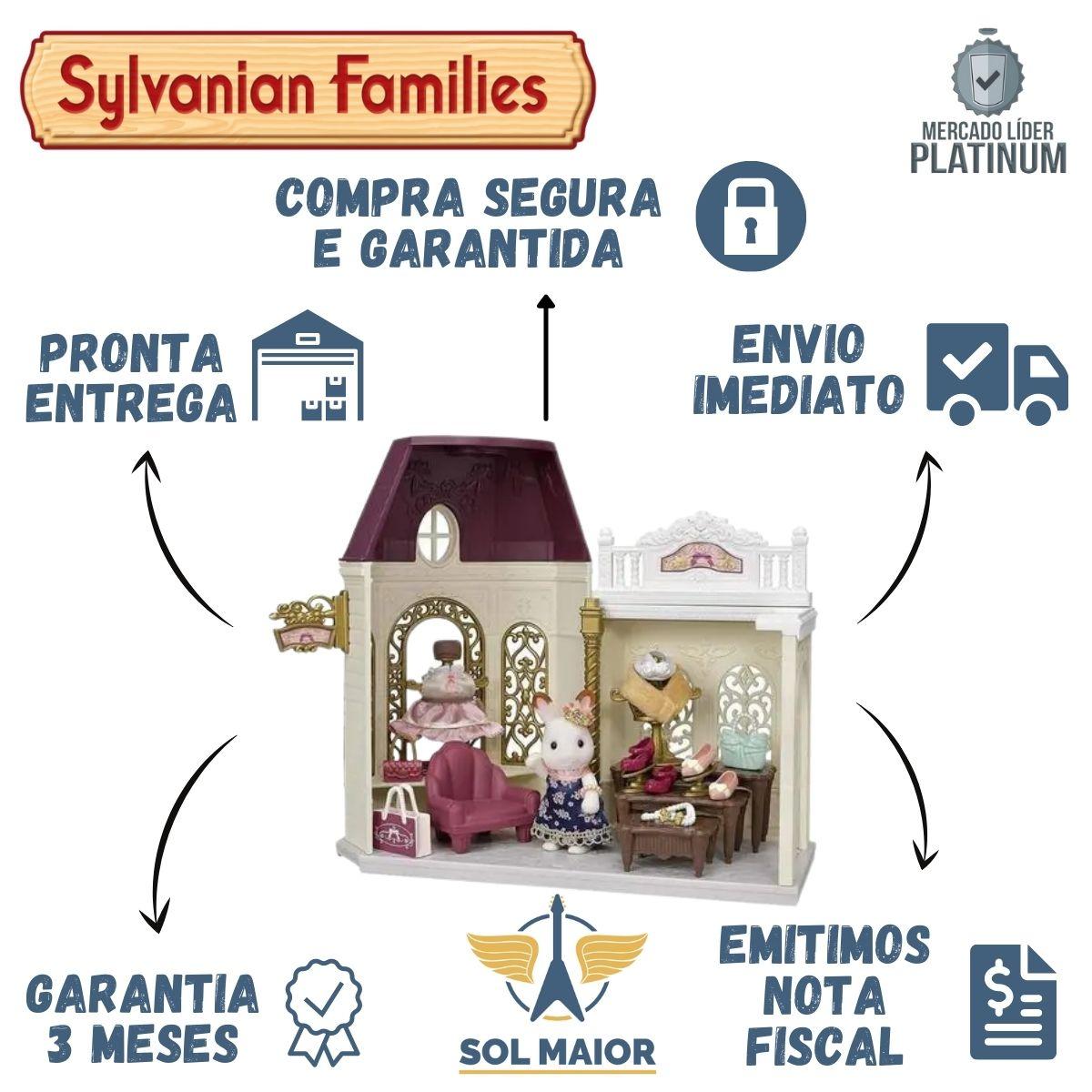 Sylvanian Families Conjunto Boutique Fashion Da Epoch 5460