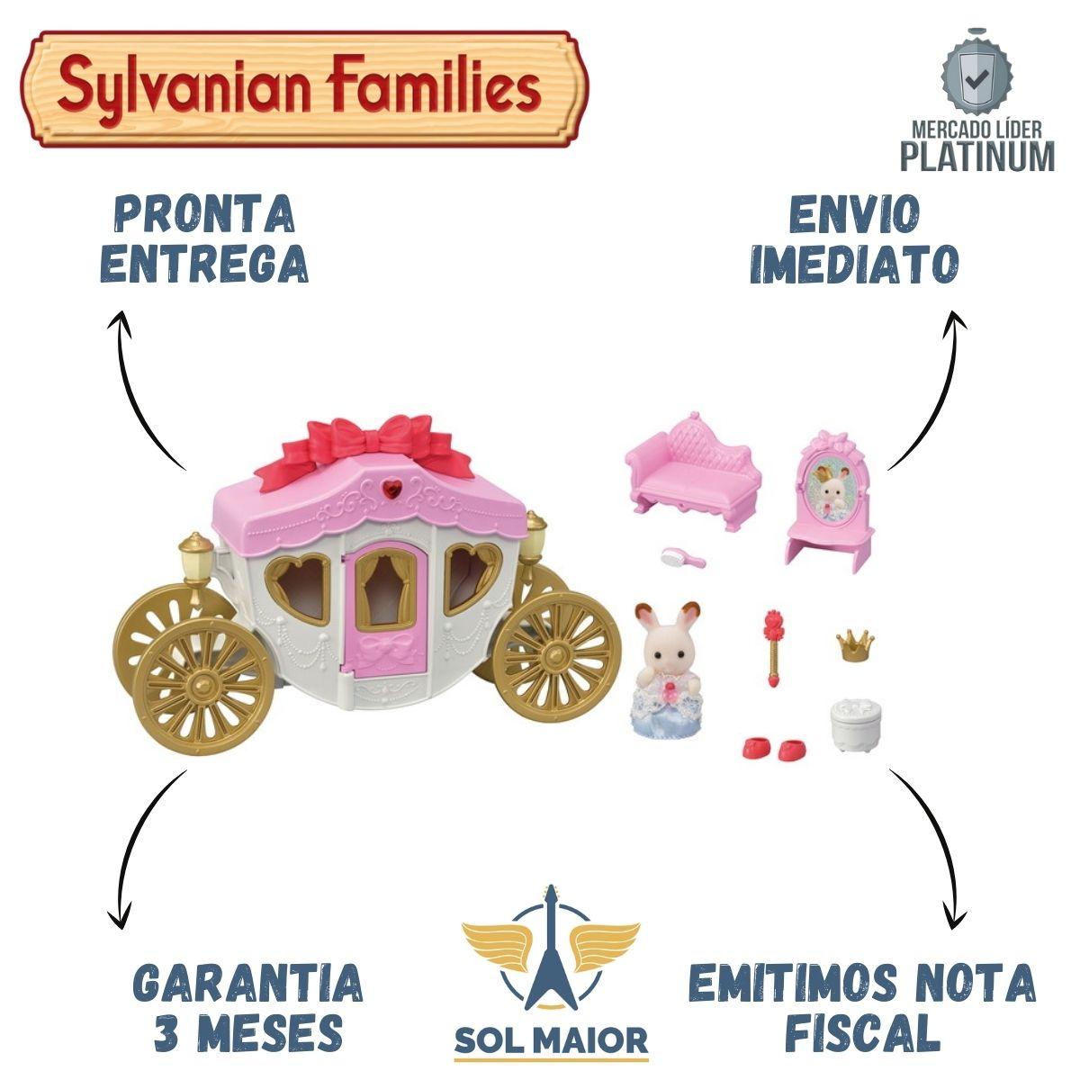 Sylvanian Families - Conjunto Carruagem Real - Epoch 5543