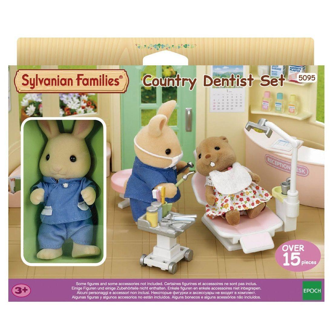 Sylvanian Families Conjunto Dentista Do Campo Da Epoch 5095