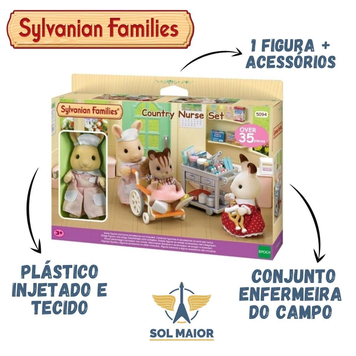 Sylvanian Families Conjunto Enfermeira Do Campo - Epoch 5094