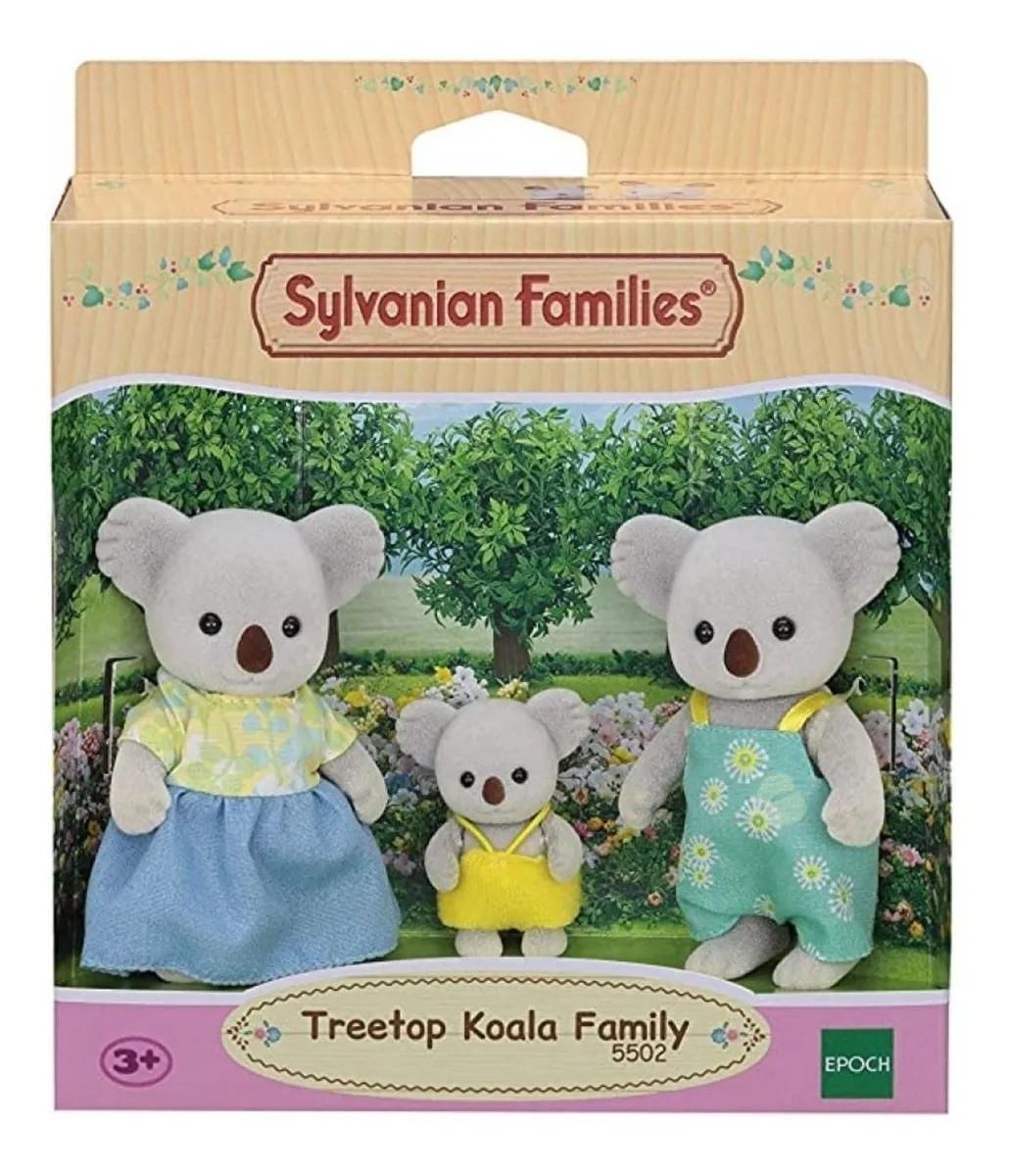 Sylvanian Families Familia Dos Coalas 5502 Epoch