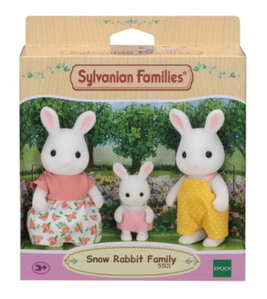 Sylvanian Families Família Dos Coelhos Neve Epoch - 5501