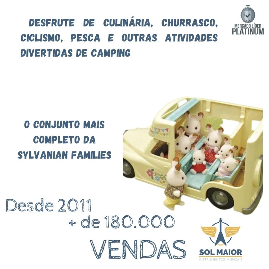 Sylvanian Families Veículo Camping Van Da Família 5454 Epoch