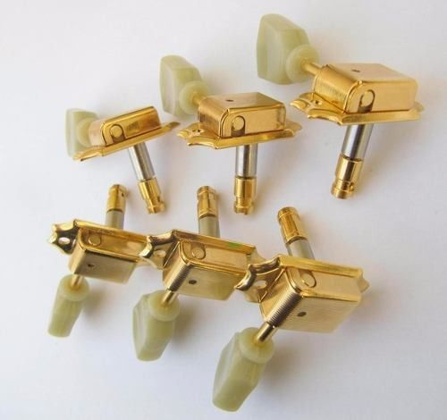 Tarraxas Guitarra 3x3 Les Paul Gotoh Sd90mg Sl Gold C/ Trava