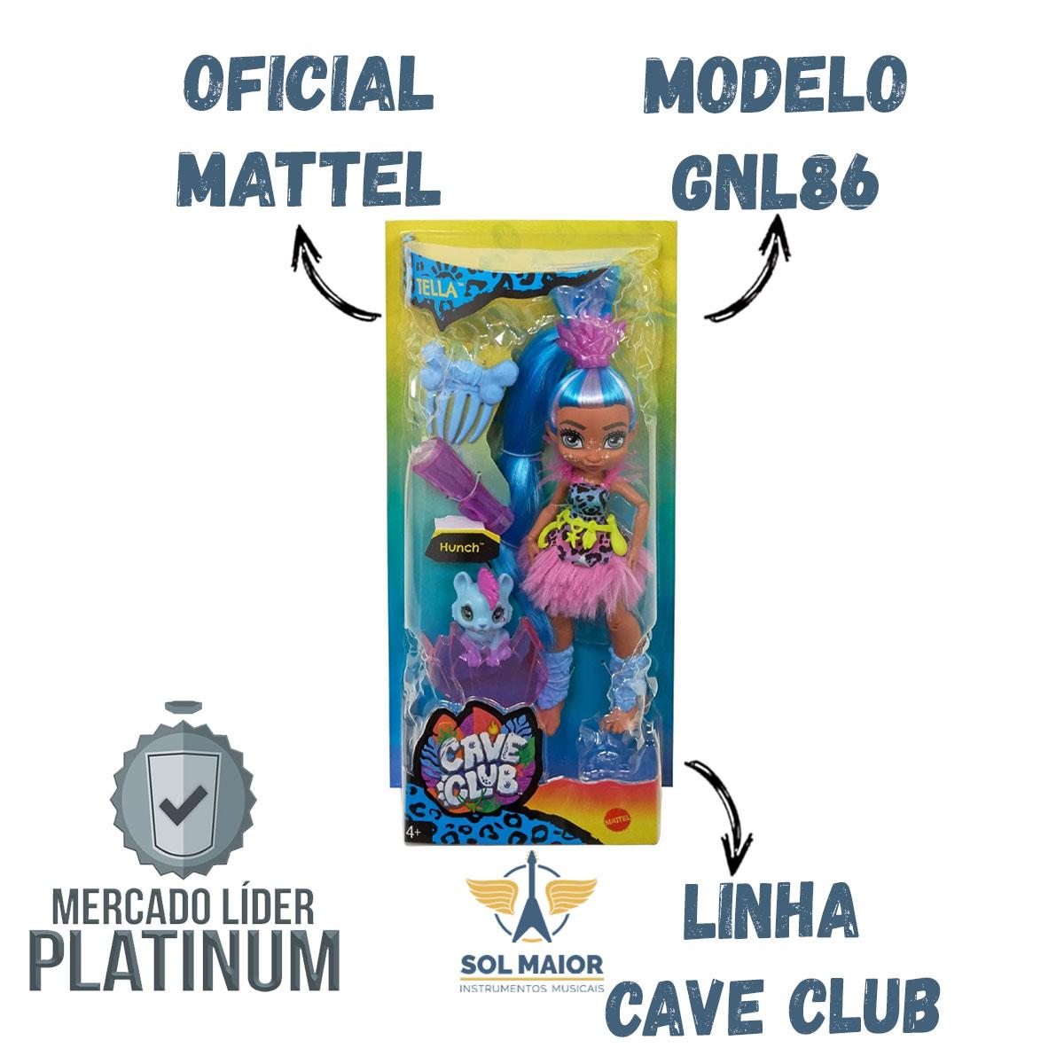 Tella Com Animal Cave Club - Mattel GNL86