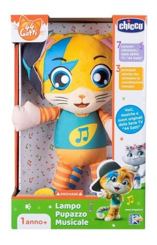 Toy 44 Cats Lampo Musical Plush - Chicco 99351