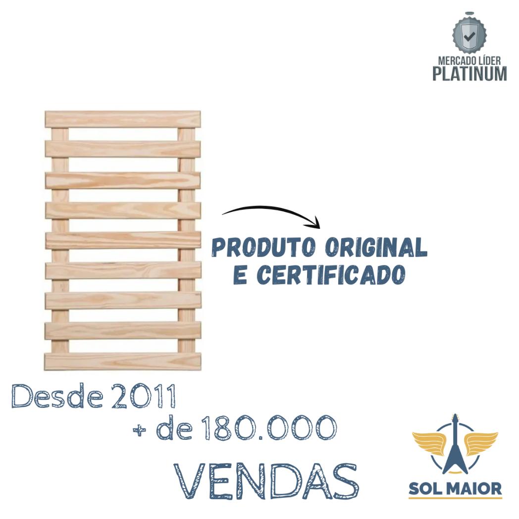 Treliça Jardim Vertical Madeira Tratada Raiz 60 X 100 Cm Original
