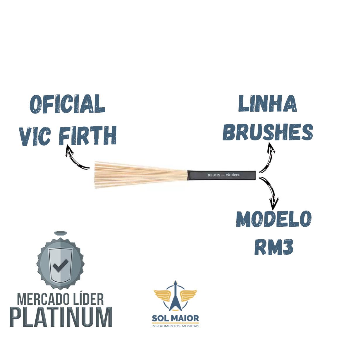 Vassourinha Re-Mix Brushes Birch  RM3