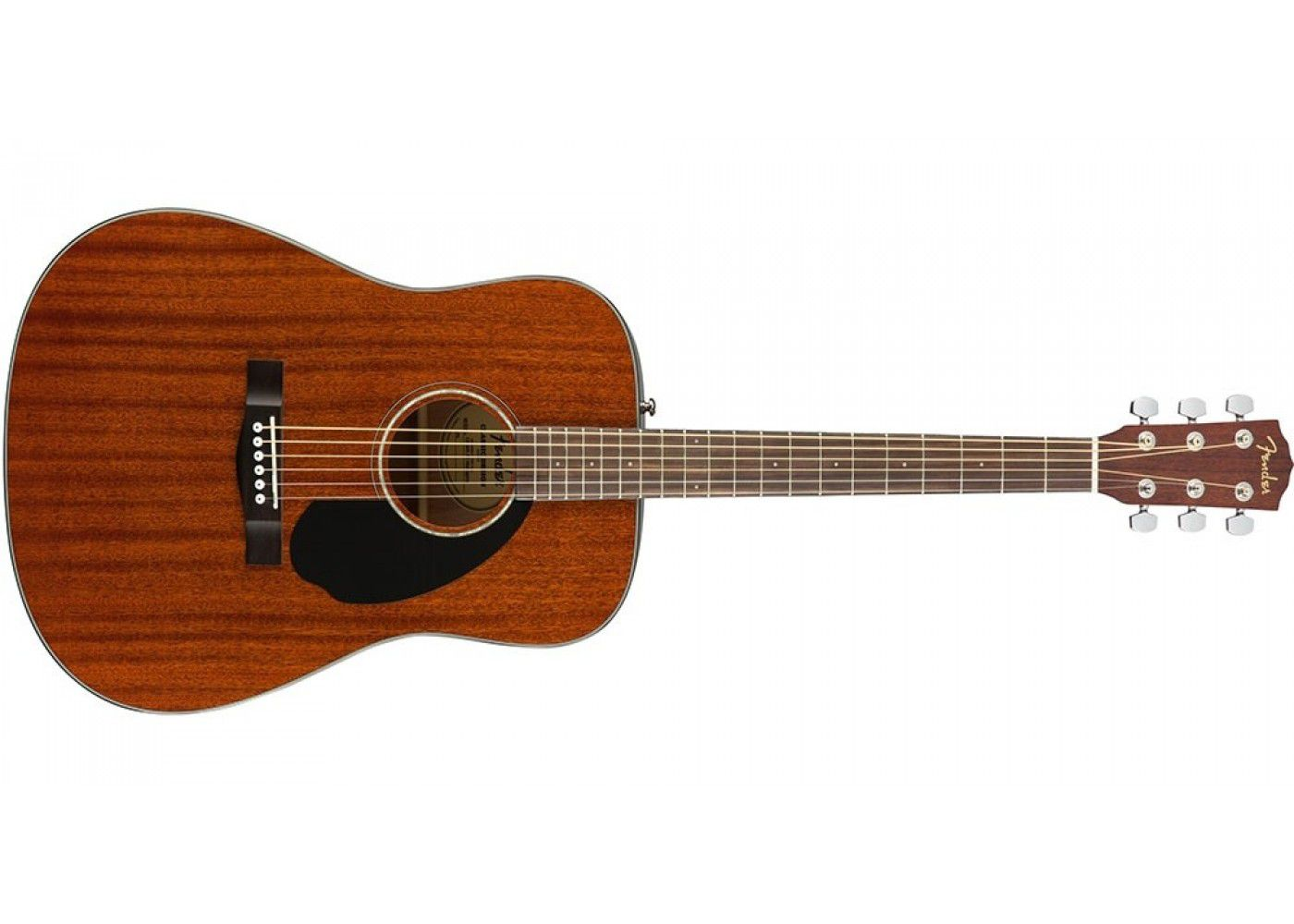 Violão De Aço Fender Cd60s All Mahogany Acústico