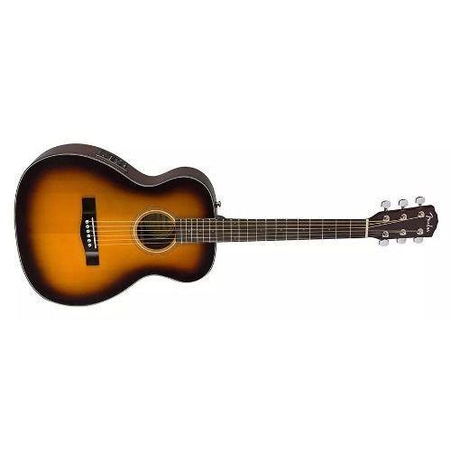 Violao Fender Travel Com Case Ct-140 Se Tampo Sólido Sunburst