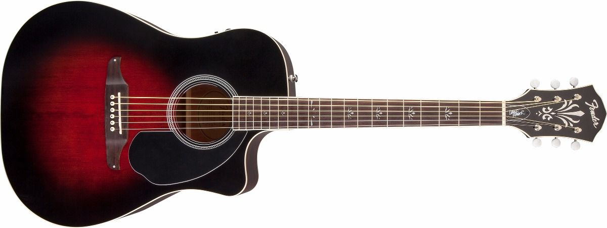 Violao Fender Wayne Kramer Royal Tone Dreadnought Ce
