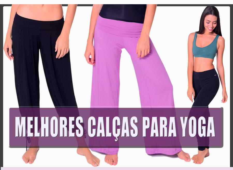 melhores calças de yoga